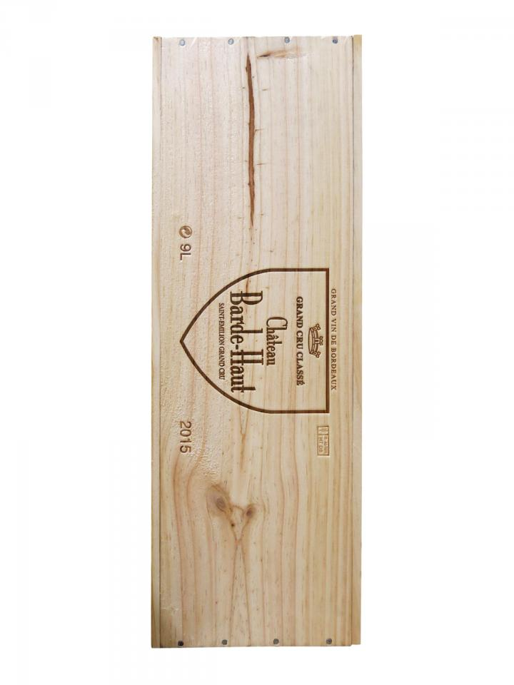 Château Barde-Haut 2015 Original wooden case of one salmanazar (1x900cl)