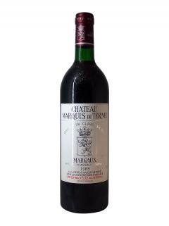 Château Marquis de Terme 1985 Bottle (75cl)
