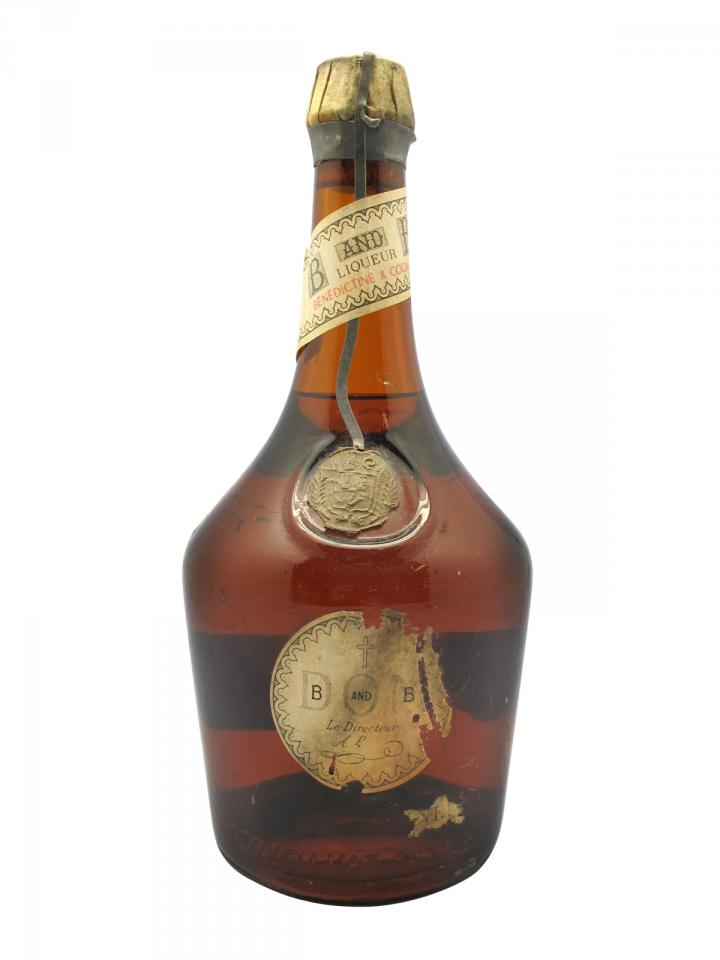 Benedictine SA Bénédictine and Brandy D.O.M Period 1940's Bottle (70cl)
