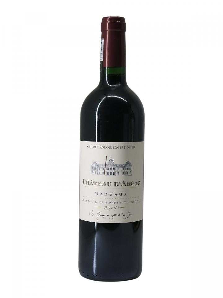 Château d'Arsac 2018 Bottle (75cl)