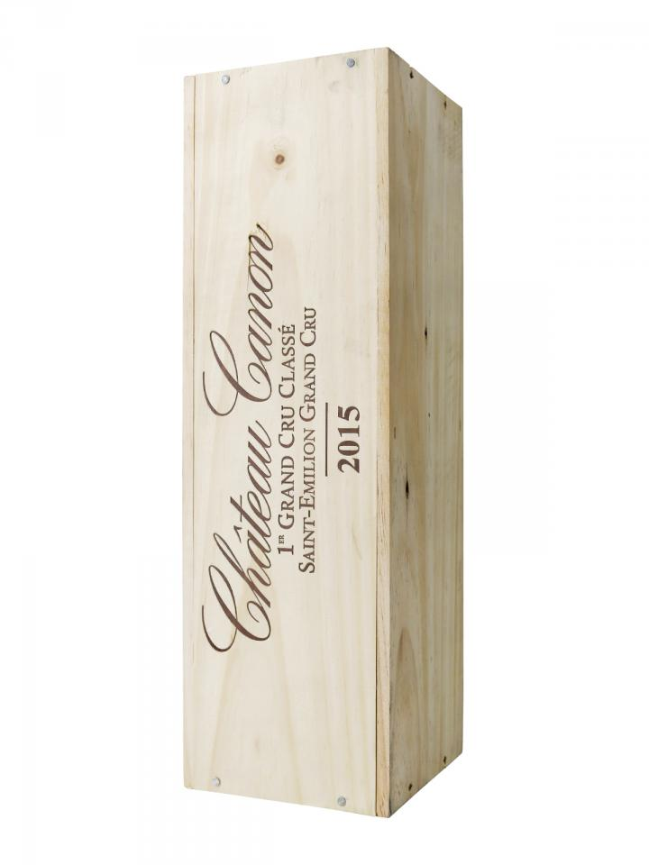 Château Canon 2015 Original wooden case of one magnum (1x150cl)