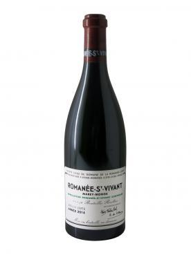 Romanée-Saint-Vivant Grand Cru Domaine de la Romanée-Conti Domaine Marey Monge 2014 Bottle (75cl)