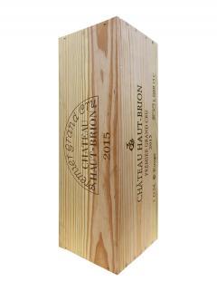 Château Haut-Brion 2015 Original wooden case of one double magnum (1x300cl)