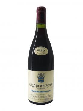 Chambertin Grand Cru Pierre Bourée Fils 1988 Bottle (75cl)