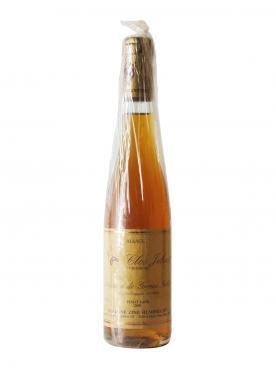 Pinot Gris Clos Jebsal Sélection de Grains Nobles Domaine Zind Humbrecht 2001 Half bottle (37.5cl)