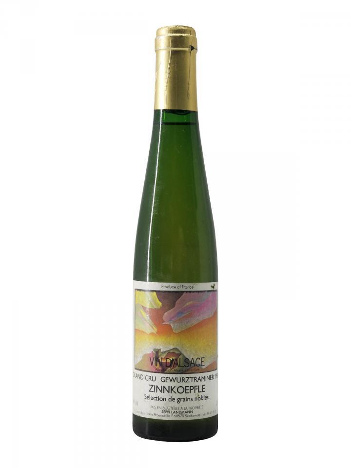Gewürztraminer Grand Cru Zinnkoepfle Sélection de Grains Nobles Seppi Landmann 1988 Half bottle (37.5cl)