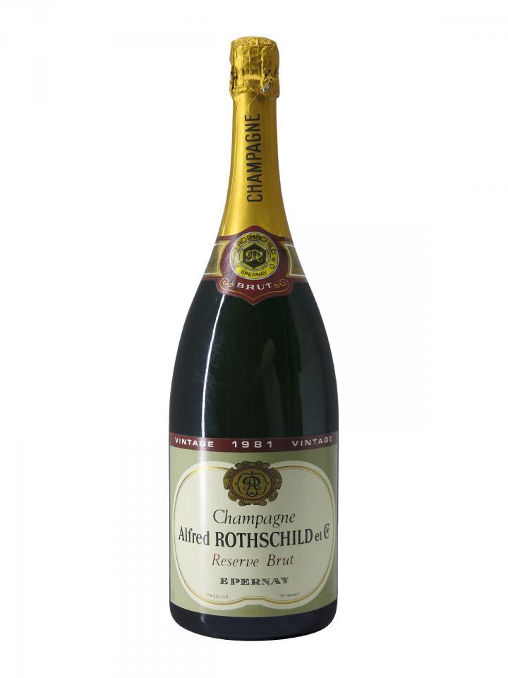 Champagne A. Rothschild Brut 1981 Magnum (150cl)