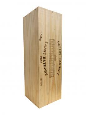 Château Lafon-Rochet 2015 Original wooden case of one double magnum (1x300cl)