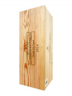 Château La Mission Haut-Brion 2014 Original wooden case of one impériale (1x600cl)