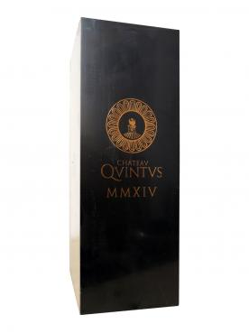 Chateau Quintus 2014 Original wooden case of one impériale (1x600cl)