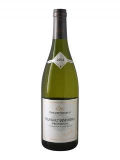 Meursault 1er Cru Genevrières Domaine Michelot 2015 Bottle (75cl)