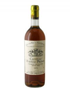 Château Rabaud-Promis 1975 Bottle (75cl)