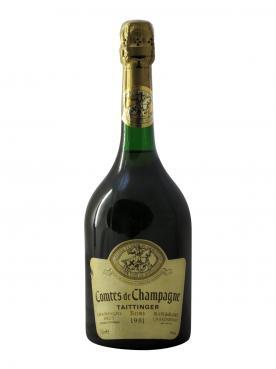 Champagne Taittinger Comtes de Champagne Blanc de Blancs Brut 1981 Bottle (75cl)