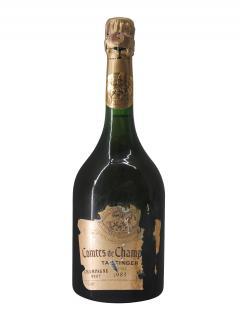 Champagne Taittinger Comtes de Champagne Rosé Brut 1983 Bottle (75cl)