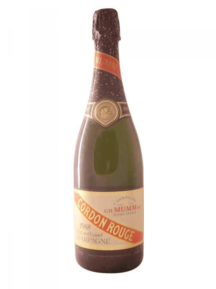Champagne G.H Mumm Cordon Rouge Brut 1988 Bottle (75cl)