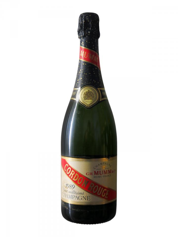 Champagne G.H Mumm Cordon Rouge Brut 1989 Bottle (75cl)