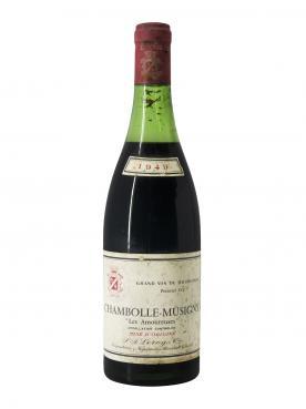Chambolle-Musigny 1er Cru Les Amoureuses Leroy SA 1949 Bottle (75cl)