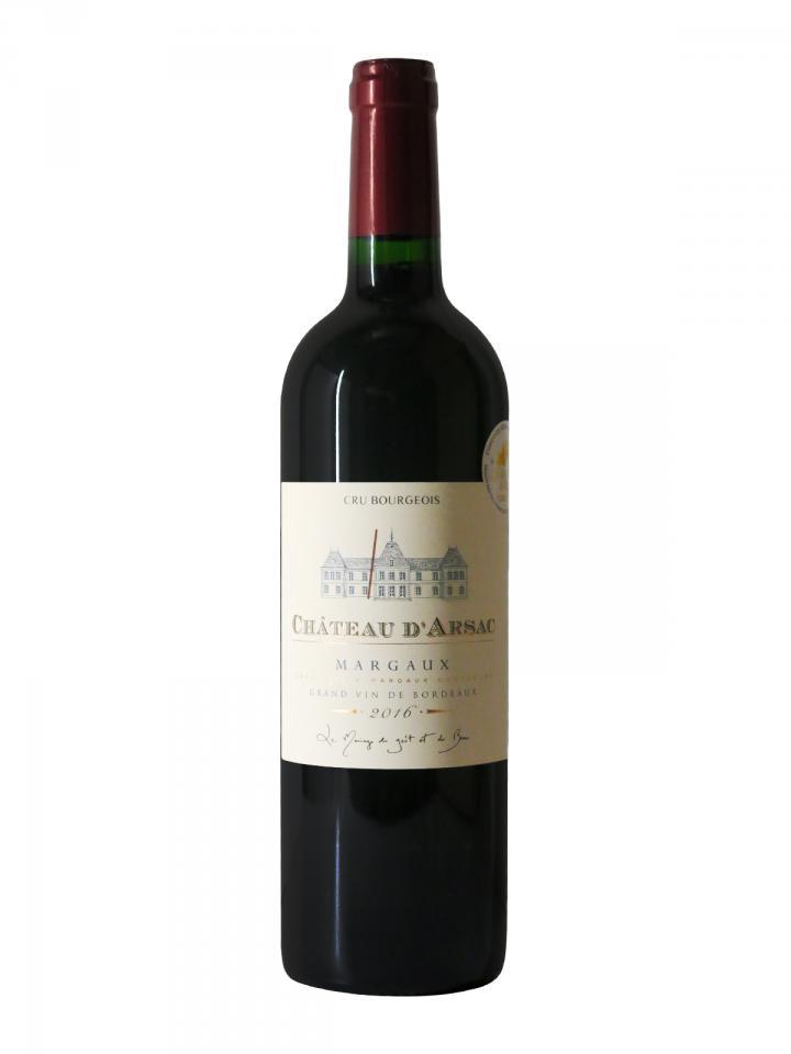 Château d'Arsac 2016 Bottle (75cl)