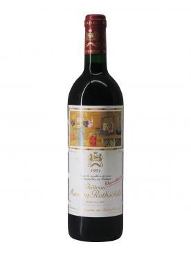 Château Mouton Rothschild 1991 Bottle (75cl)
