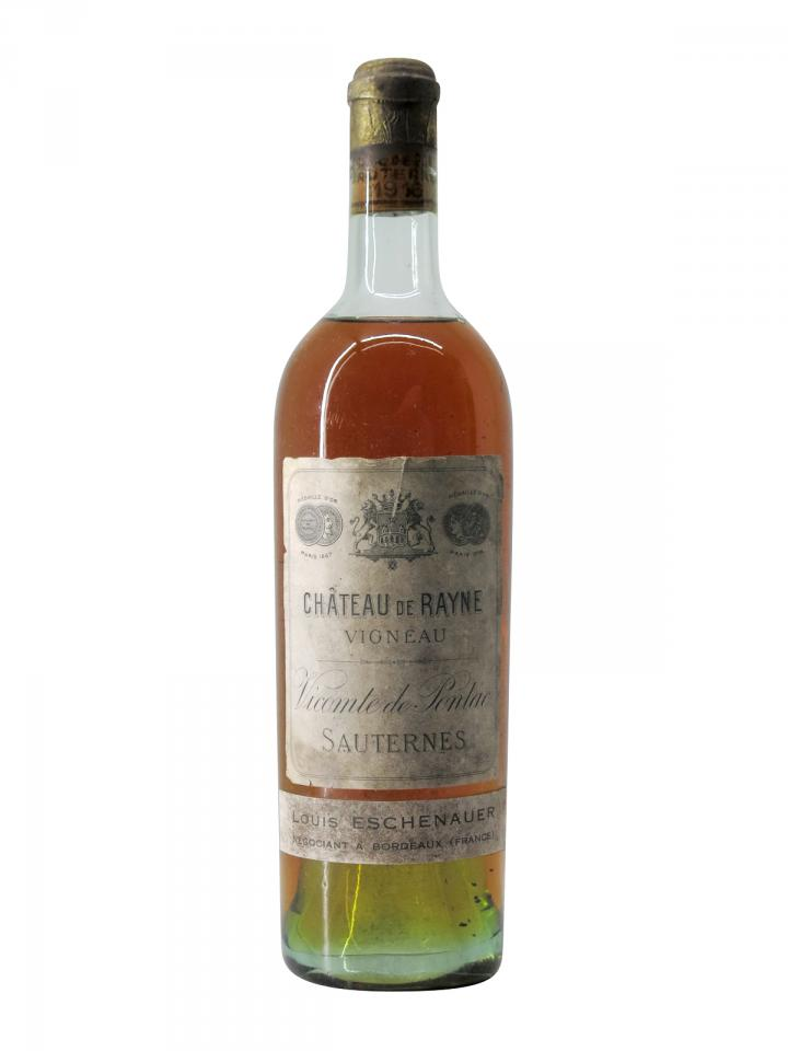 Château de Rayne Vigneau 1916 Bottle (75cl)
