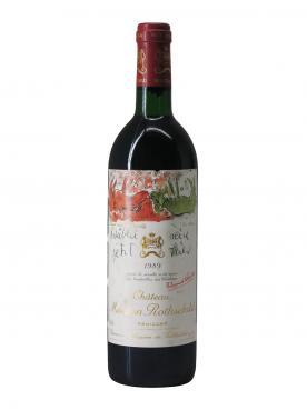 Château Mouton Rothschild 1989 Bottle (75cl)