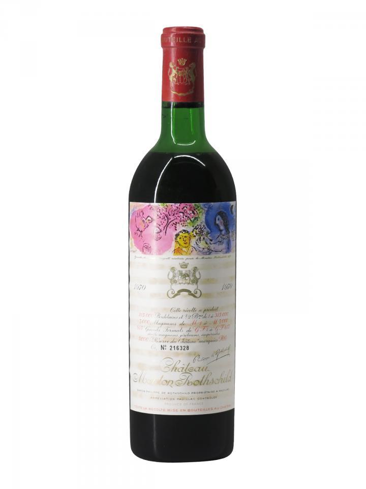 Château Mouton Rothschild 1970 Bottle (75cl)