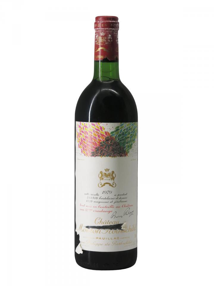 Château Mouton Rothschild 1979 Bottle (75cl)