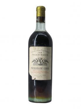 Château Sigalas Rabaud 1914 Bottle (75cl)