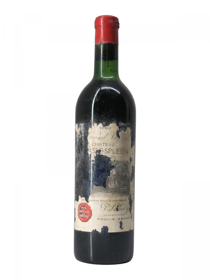 Château Chasse-Spleen 1960 Bottle (75cl)
