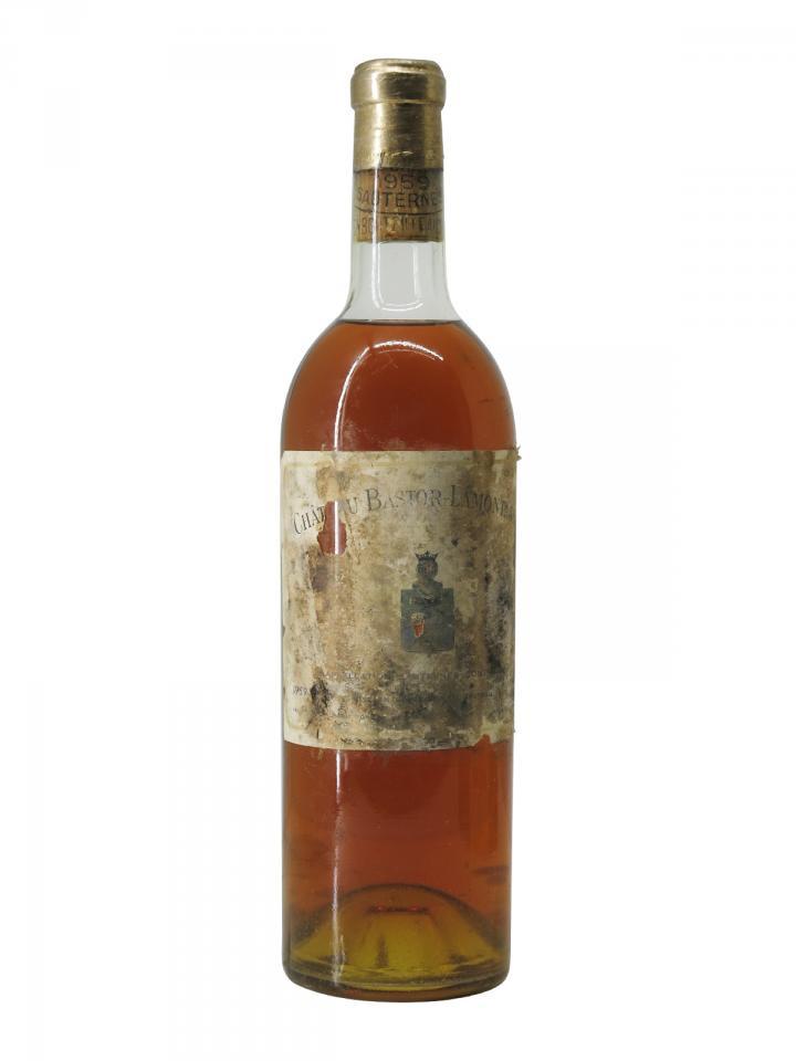 Château Bastor Lamontagne 1959 Bottle (75cl)