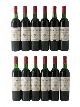 Château Lagrange (Pomerol) 1974 Original wooden case of 12 bottles (12x75cl)
