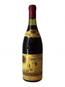 Chateauneuf-du-Pape Domaine Saint-Préfert 1980 Bottle (75cl)
