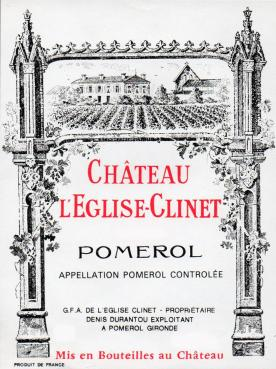 Château l'Eglise-Clinet 1982 Original wooden case of 12 bottles (12x75cl)