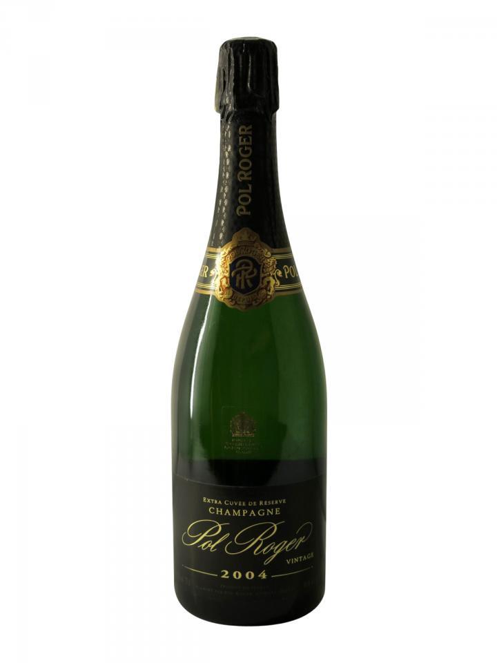 Champagne Pol Roger Extra Cuvée de Réserve Brut 2004 Bottle (75cl)