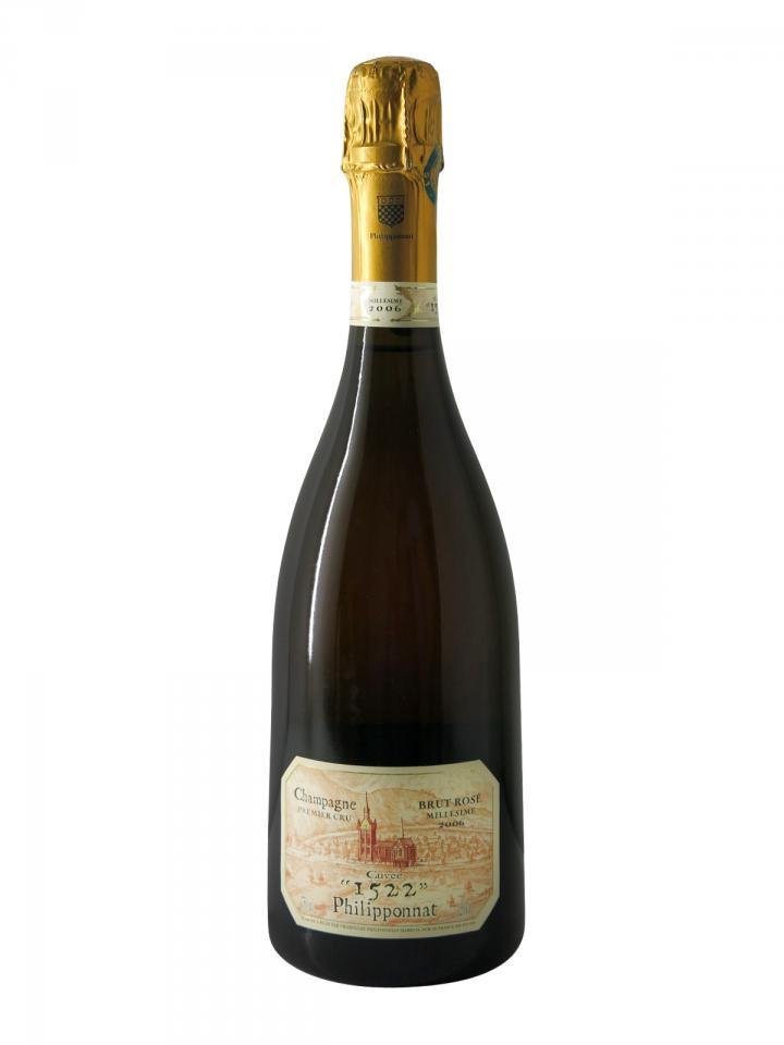 Champagne Philipponnat Cuvée n°1522 Rosé 2006 Bottle (75cl)