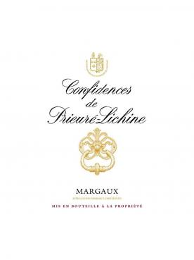 Confidences de Prieuré-Lichine 2014 Original wooden case of 12 bottles (12x75cl)
