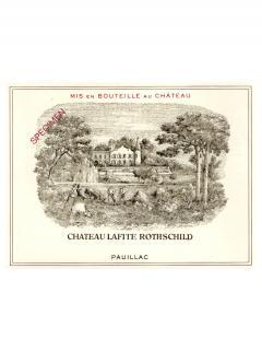 Château Lafite Rothschild 2003 Original wooden case of 6 bottles (6x75cl)