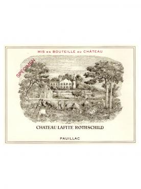Château Lafite Rothschild 2003 Original wooden case of 6 bottles (6x75cl)