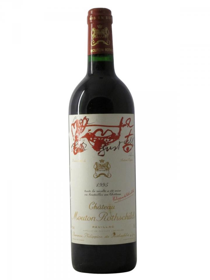 Château Mouton Rothschild 1995 Bottle (75cl)