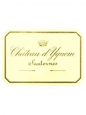 Château d'Yquem 2013 Original wooden case of 6 bottles (6x75cl)