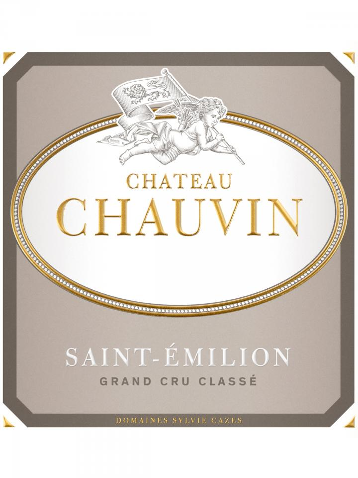 Château Chauvin 2015 Original wooden case of 6 bottles (6x75cl)