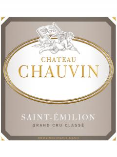 Château Chauvin 2015 Original wooden case of 6 bottles (6x75cl)