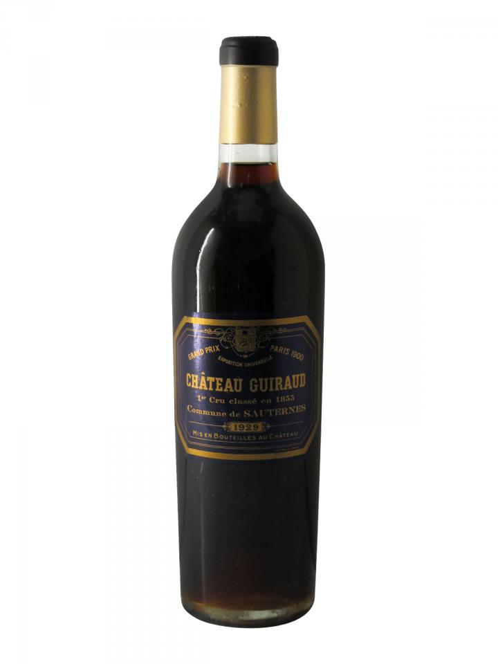 Château Guiraud 1929 Bottle (75cl)
