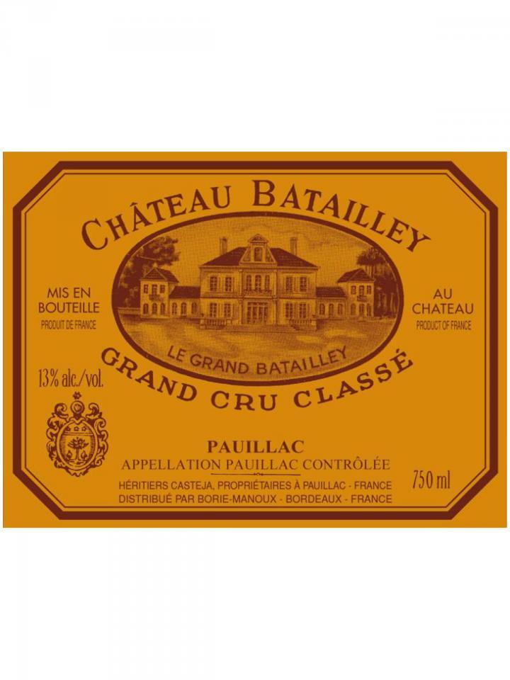 Château Batailley 1967 Bottle (75cl)