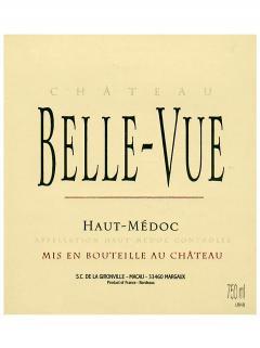 Château Belle-Vue (Haut-Médoc) 2009 Original wooden case of 12 bottles (12x75cl)