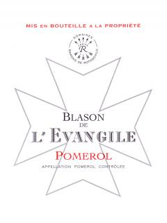 Blason de l'Evangile 2014 Original wooden case of 6 bottles (6x75cl)