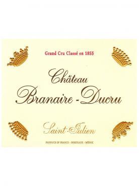 Château Branaire-Ducru 2015 Original wooden case of 6 bottles (6x75cl)