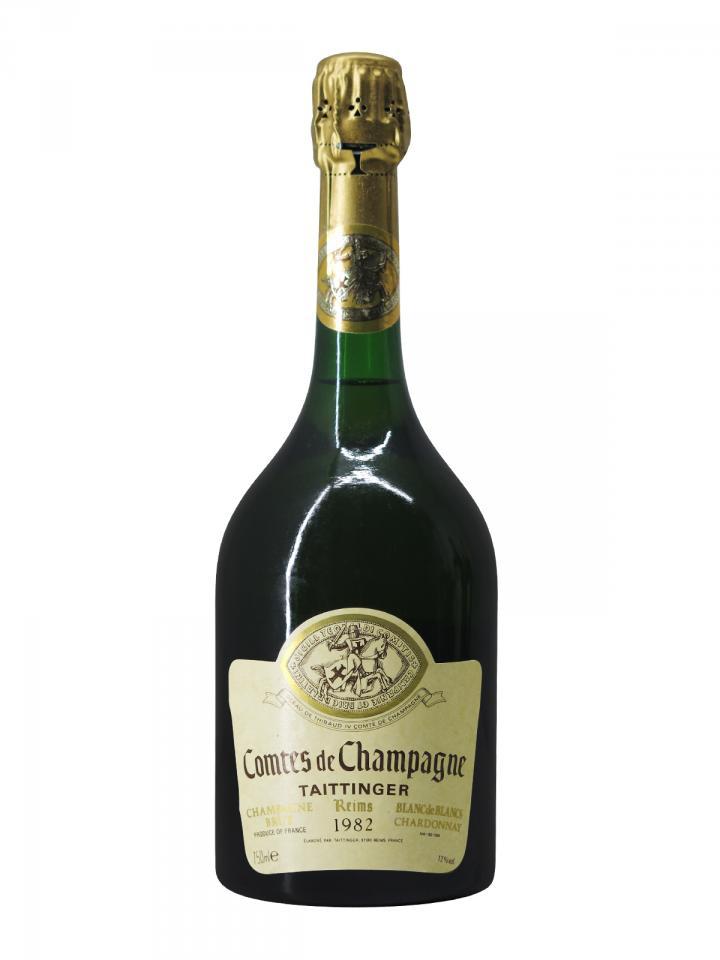 Champagne Taittinger Comtes de Champagne Blanc de Blancs Brut 1982 Bottle (75cl)