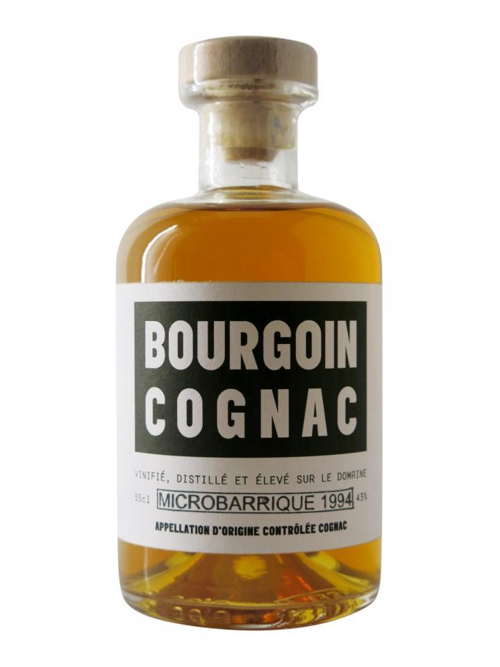 Cognac Micro-Barrique Bourgoin 1994 Half bottle (35cl)