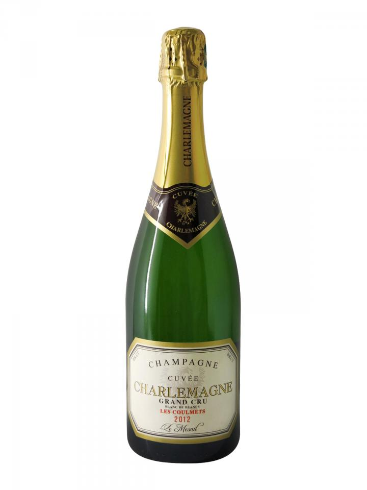Champagne Guy Charlemagne Cuvée Charlemagne - Les Coulmets Blanc de Blancs Grand Cru 2012 Bottle (75cl)